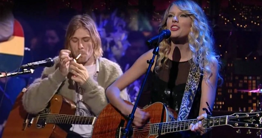 4fc108224cad594bdd4ffcd428a88a4b 10 Shocking Similarities between Taylor Swift and Kurt Cobain
