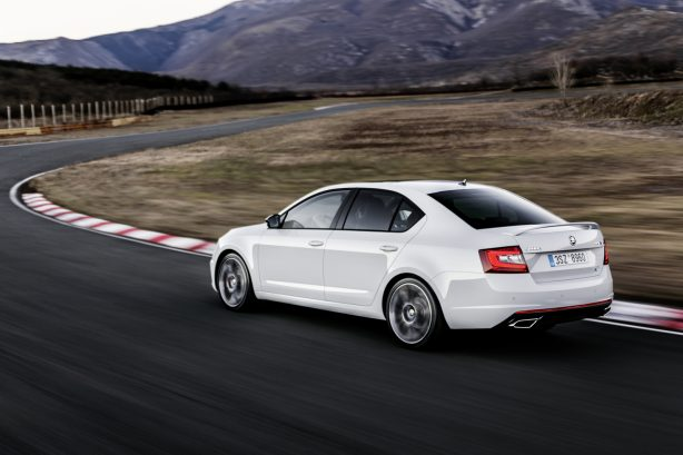 3b5804df8d844fc980dfd7efd33c69bf Skoda's updated MY17 Octavia vRS is the most powerful of all time