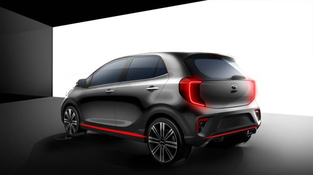 77b7dde23ab9ded55dffe1691e6ce12b New 3rd-generation Kia Picanto previewed ahead of January debut