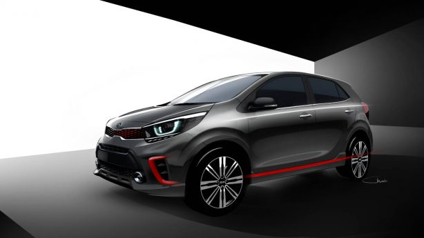 87d57d0ce4467f99f3496933a7139749 New 3rd-generation Kia Picanto previewed ahead of January debut