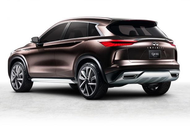 92858894238aa95ee505429fd72da2a7 Infiniti QX50 Concept unveiled ahead of Detroit debut