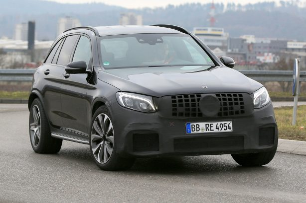 ad25ad59339abb7546fb8db10bdc3e8f New Mercedes-AMG GLC 63 spied out in the open
