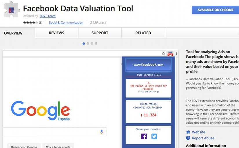 f4ffe4f526dce86844e15db32fdf8758 Tool Calculates How Much You Are Worth To Facebook