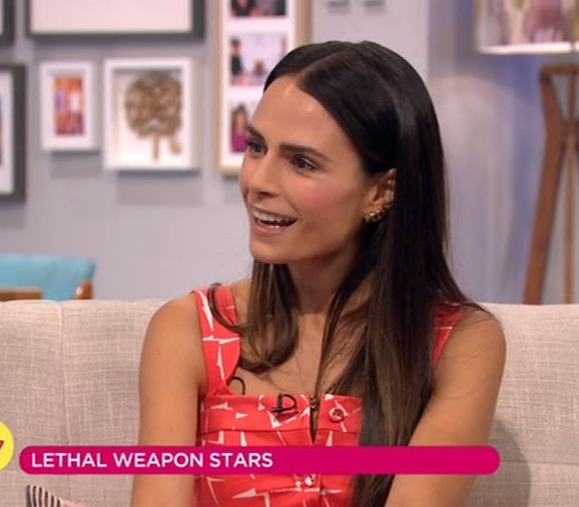 0990d83208a029ce31e177a1e0f53783 Rochelle Humes apologises for the SECOND time in two days after Lethal Weapon's Jordana Brewster swears on Lorraine