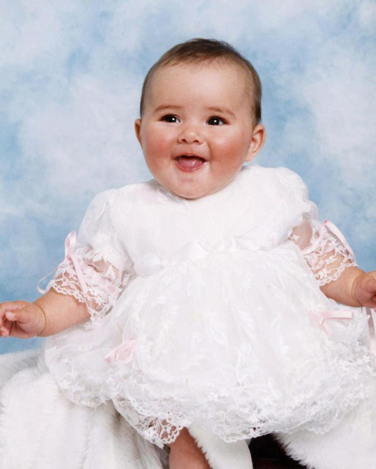 4e7bc4ba8b554bb7c2899405fe664110 Which party-loving Geordie Shore star did this adorable little girl turn into?
