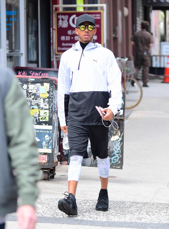 The New F1 Canna Cannova Is Set To Take Cannas To A New: F1 Star Lewis Hamilton Continues Fashion Faux Pas As He