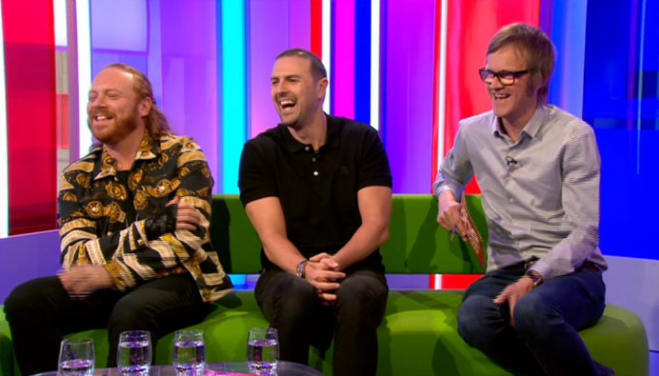 80133fad73087b3364bee6b858f2ba75 Paddy McGuinness walks off mid interview on The One Show and Matt Baker can't stop laughing