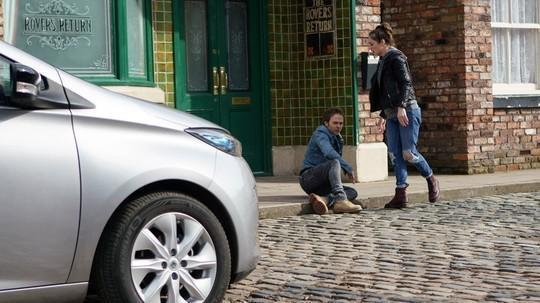 88319bf09c2679373c1a434c3713d15d Coronation Street spoilers: Will Shona Ramsey confess to David Platt as he celebrates attack on killer Clayton?
