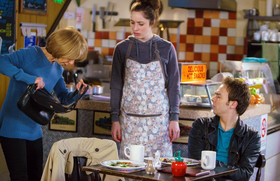 99a027a326f7a75ddf112f29780d82b5 Coronation Street's Julia Goulding hints Shona Ramsey won't tell David Platt her son killed his wife Kylie – despite romantic spark