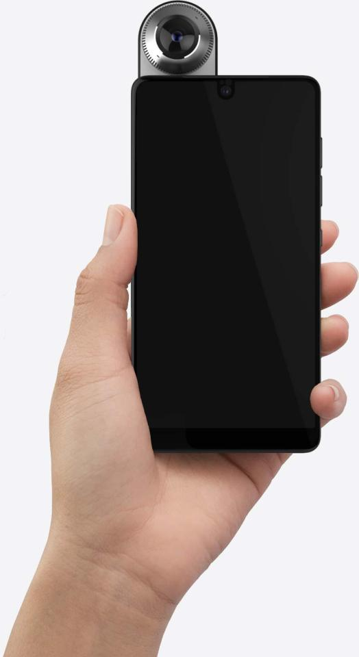 9dc30a141116fcb396898f8196525efb Essential smartphone unveiled by inventor of Android software – and it looks VERY odd indeed
