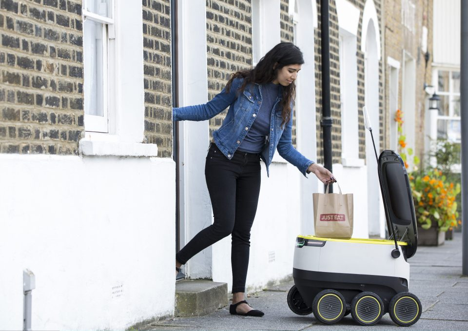 a516146392152d86c422179b52b3ebaf Tesco makes UK's first delivery by ROBOT in test of technology which could change shopping forever