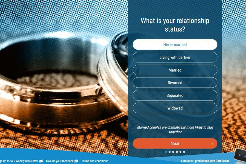 aa86026b553cd8bfc762754f97a09757 This website claims to tell you whether your relationship will last forever – or fizzle out