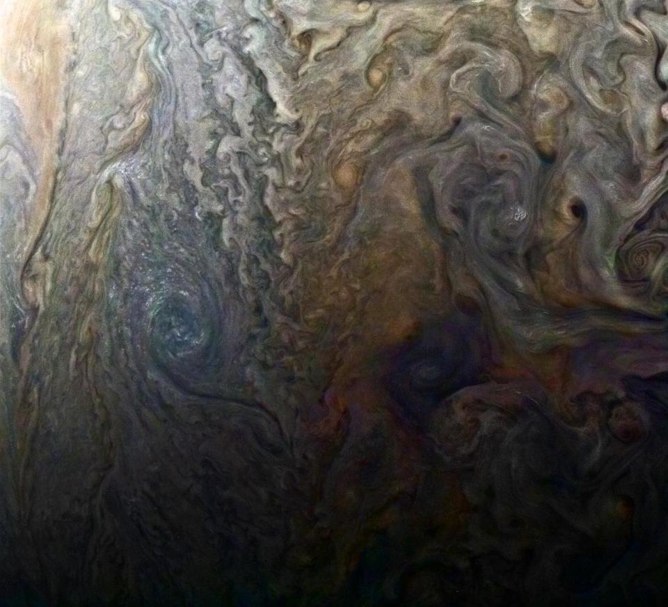 df9123f10ee9655f9fba9b5d197d2612 Incredible pictures of Jupiter reveal 'snow storms' in discovery that's forcing a total 'rethink' of the gas giant