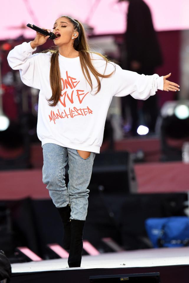 2cdecc448f3712b65b8572457c83aff8 Ariana Grande to release charity single of Somewhere Over The Rainbow cover from One Love Manchester concert