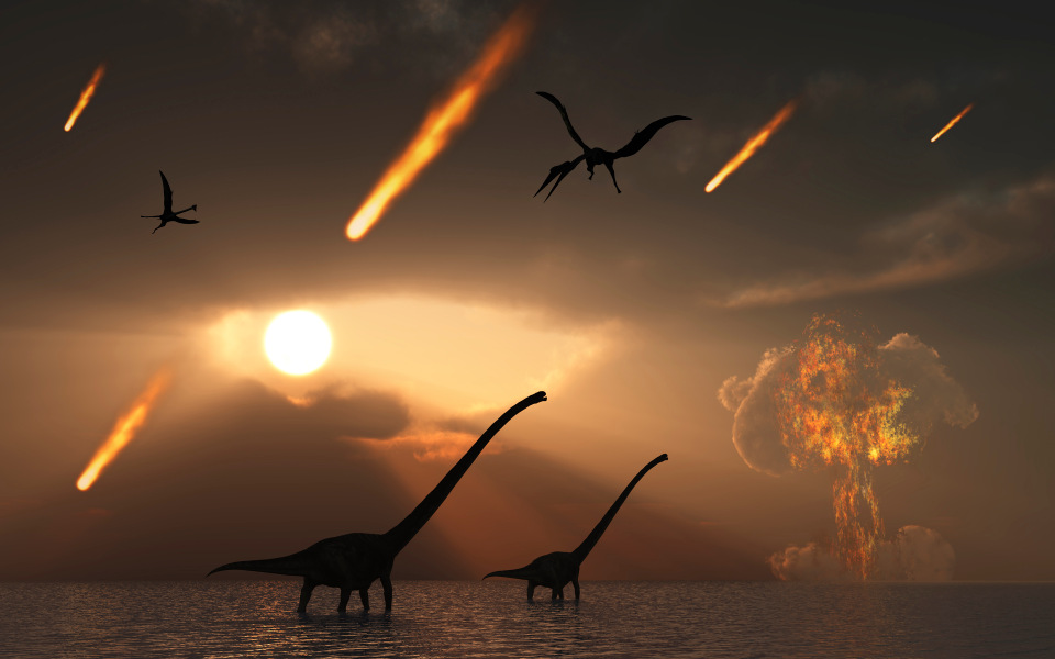 6a6584c88170109c38e12f35f9629275 Volcanic apocalypse triggered dawn of the dinosaurs by wiping out existing life on Earth