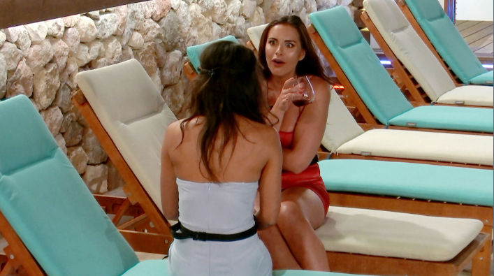 e1aef9d3f7160edb2bef0898f1d3f9b2 Love Island spoiler: Love Island's Montana and Jessica come face-to-face for the first time after discovering they dated the same bloke – at the same time