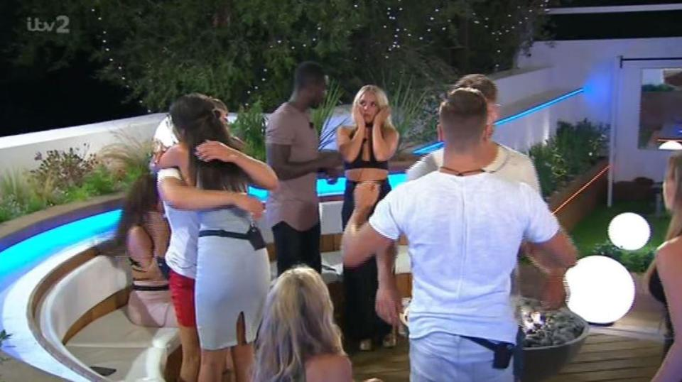 04763f428521b174f2bd4e83e1a73f09 Love Island fans shocked as Montana Brown SNUBS former BFF Gabby Allen and fails to hug her before leaving the villa