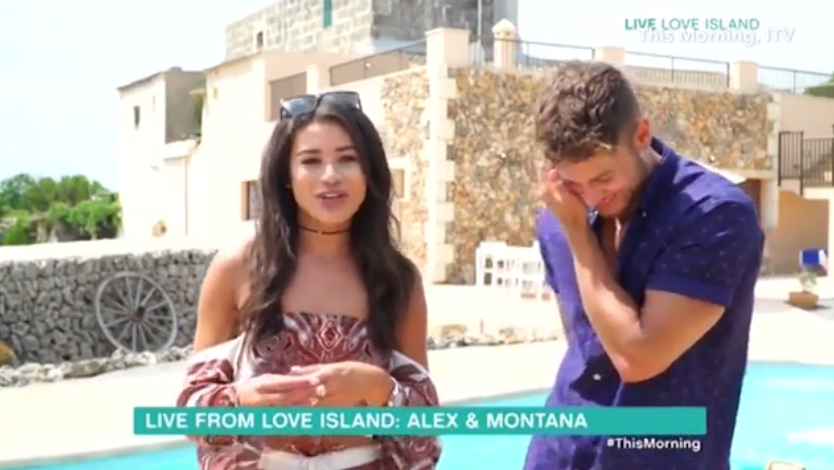 1fefd395b6c4d6e9c98933252b773381 Love Island's Montana Brown admits she still DOESN'T love Alex Beattie in awkward This Morning interview