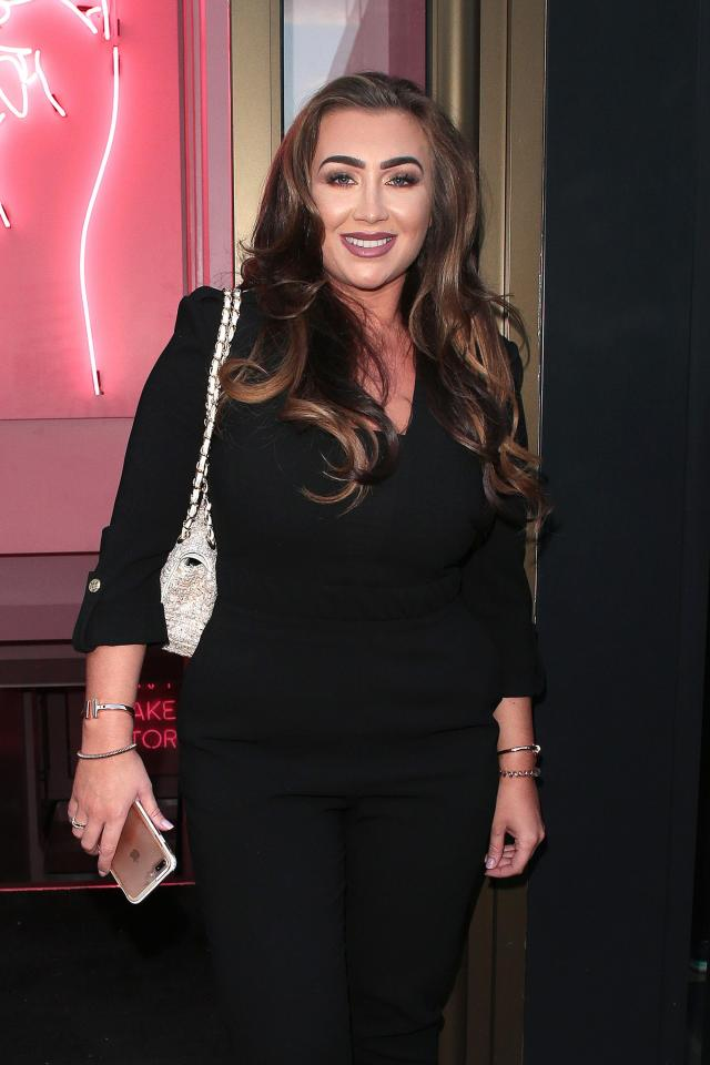 4665d14e02799d8115a240fa9c2c423f Lauren Goodger looks dramatically different in throwback snap from seven years ago when she was 'not allowed out'