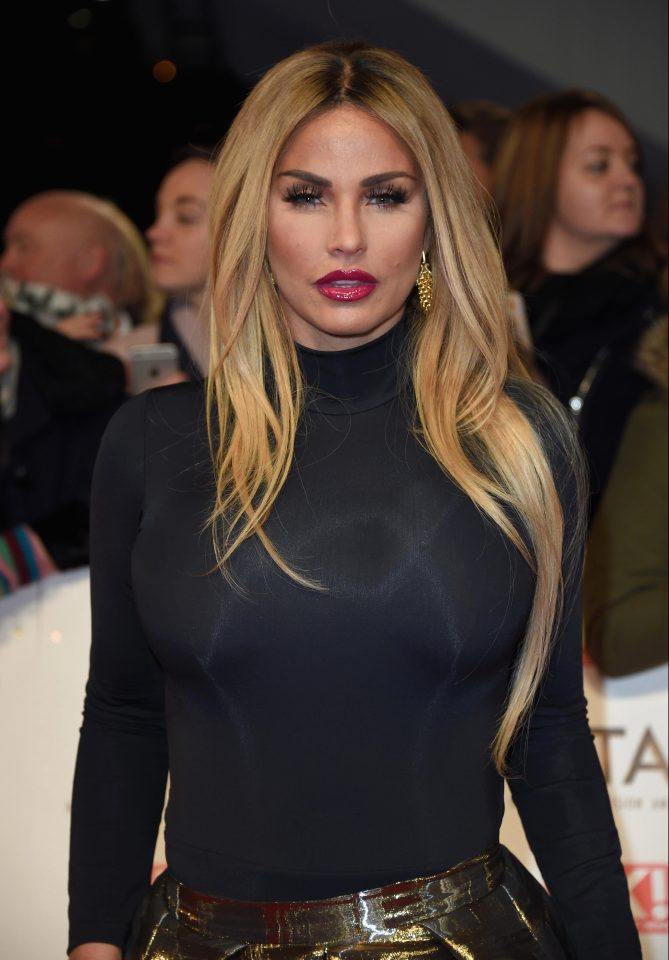 Katie Price says she looks like a Space Invader after