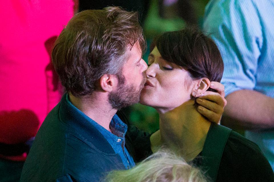 6165a121e09d3f260983d471d7d5aa70 Gemma Arterton spotted snogging new man at star-studded British Summertime festival in Hyde Park