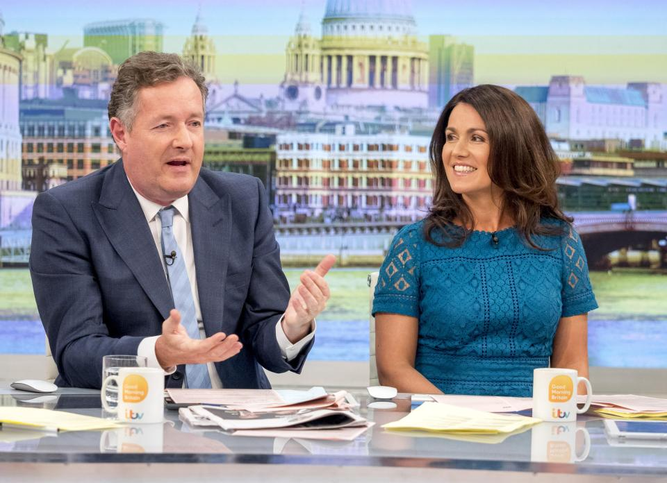 69cdee2fddabd1b4f2e32d7dc980100d BBC Breakfast's Dan Walker urges Piers Morgan and Susanna Reid to go public with Good Morning Britain salaries in Twitter spat over pay gap