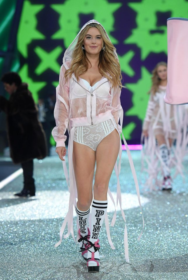 9ddbe4d07bb0250852790f6e0f6a98eb One Direction star Harry Styles is dating Victoria's Secret model, Camille Rowe… his third Angel romance