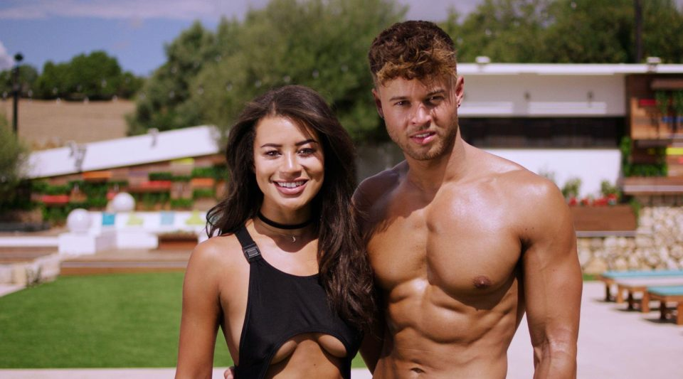 acdc4fdedf2bb7da1f66840a78a56ea2 Love Island's Montana Brown and Alex Beattie try and convince fans they're together – despite breaking up after leaving the villa
