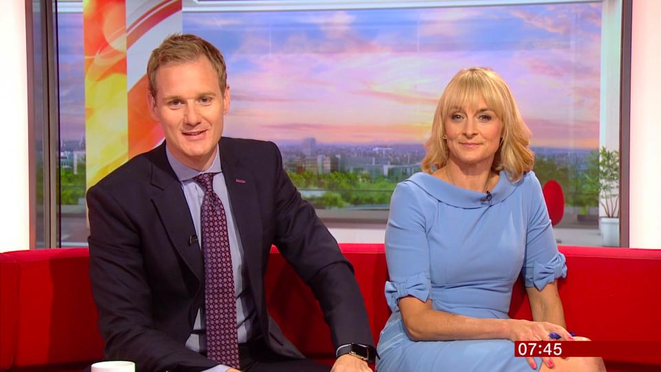 ad30992e934cf9a9fb94831cd44d25da BBC Breakfast's Dan Walker urges Piers Morgan and Susanna Reid to go public with Good Morning Britain salaries in Twitter spat over pay gap