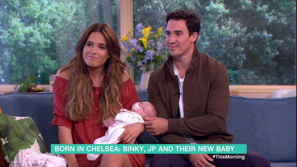 da7ac2e2f775a821c6ae6662f396bb53 Made in Chelsea's Binky Felstead admits she was terrified to breastfeed two-month old daughter India in public