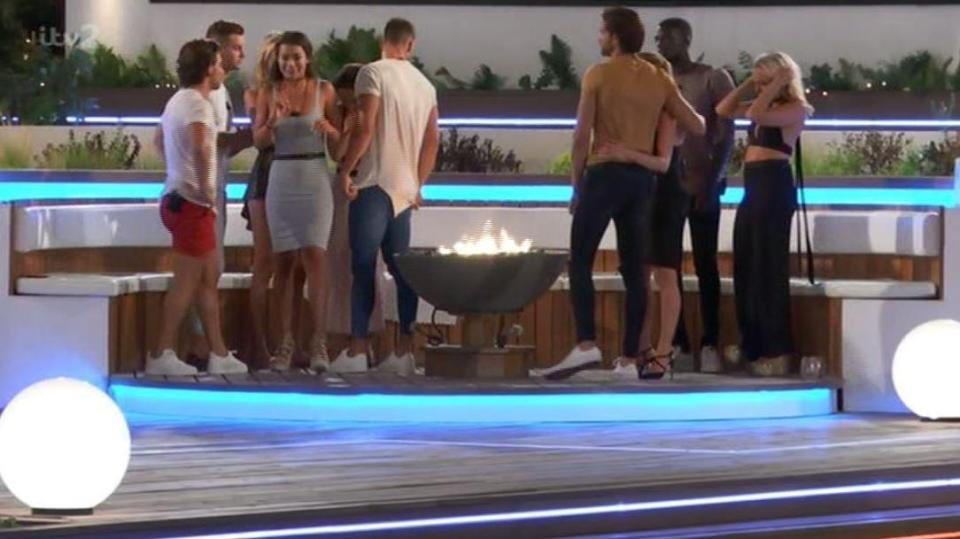 dc1e0f4e0329a316e030f1af255a9546 Love Island fans shocked as Montana Brown SNUBS former BFF Gabby Allen and fails to hug her before leaving the villa