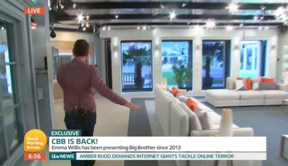 0b04a91334aef0b45445c68ac3a78323 First look at the Celebrity Big Brother house which boasts luxury suites, a super-stylish living room and a designer kitchen
