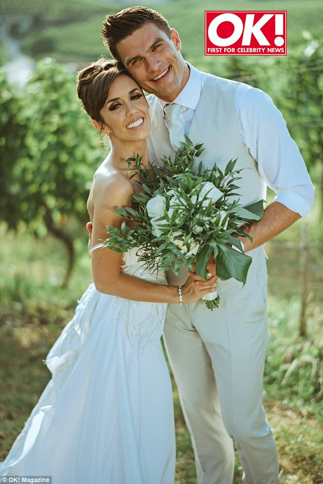 704cb3cac25d3a4b53ac573e0f28cfdf 'It was the happiest two weeks of our lives!' Strictly's Janette Manrara and co-star husband Aljaz Skorjanec gush over their unconventional THREE wedding ceremonies