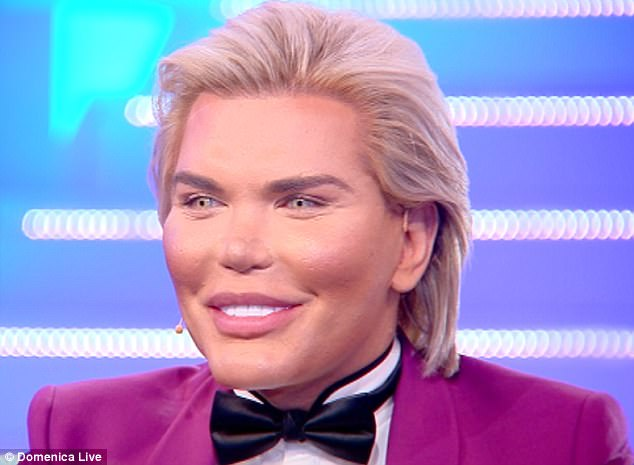 398adaf824a94ef4b67a11e7ffb3861d EXCLUSIVE: 'I may have a SEX CHANGE and become Barbie!' Human Ken Doll Rodrigo Alves reveals shock surgery plans... and claims his manhood is the only 'real' part of him