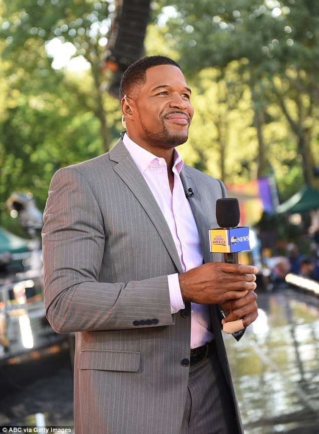 89dc59237fabee8d006660f1e166c8bb Michael Strahan's 'refusal to return to Good Morning America early from vacation for Hurricane Harvey coverage' leaves ABC execs 'really upset with him'