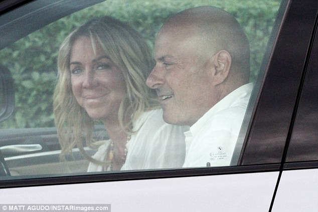 aec6f070f2f904a35a2ee78287f41848 Look away Luann! Tom D'Agostino beams while driving with mystery woman... just WEEKS after divorce filing from RHONY star de Lesseps