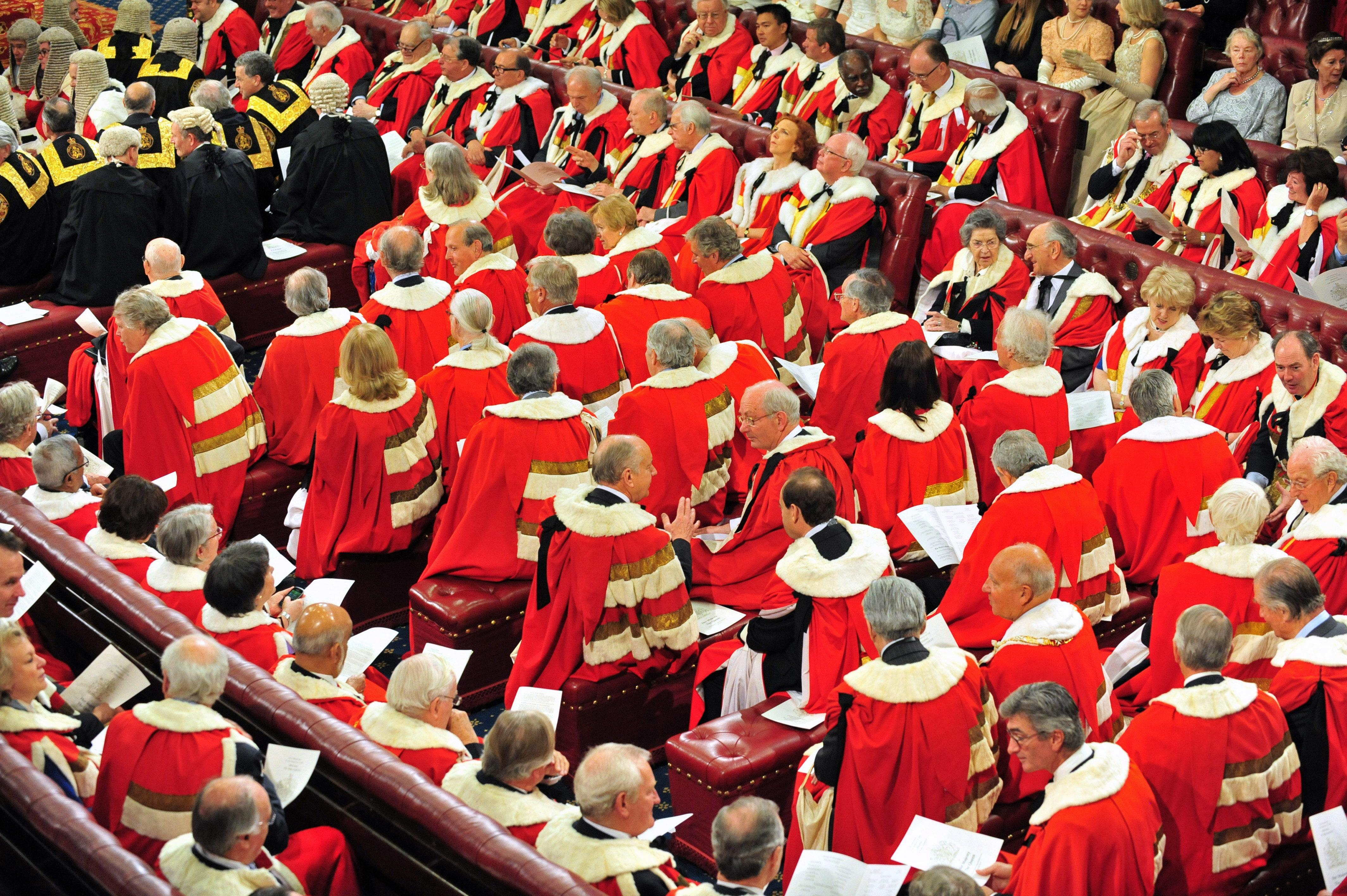 6fe6e24987cb7541639eea357fbbc928 200 peers should be chucked out of House of Lords to stop it becoming a laughing stock, says official report