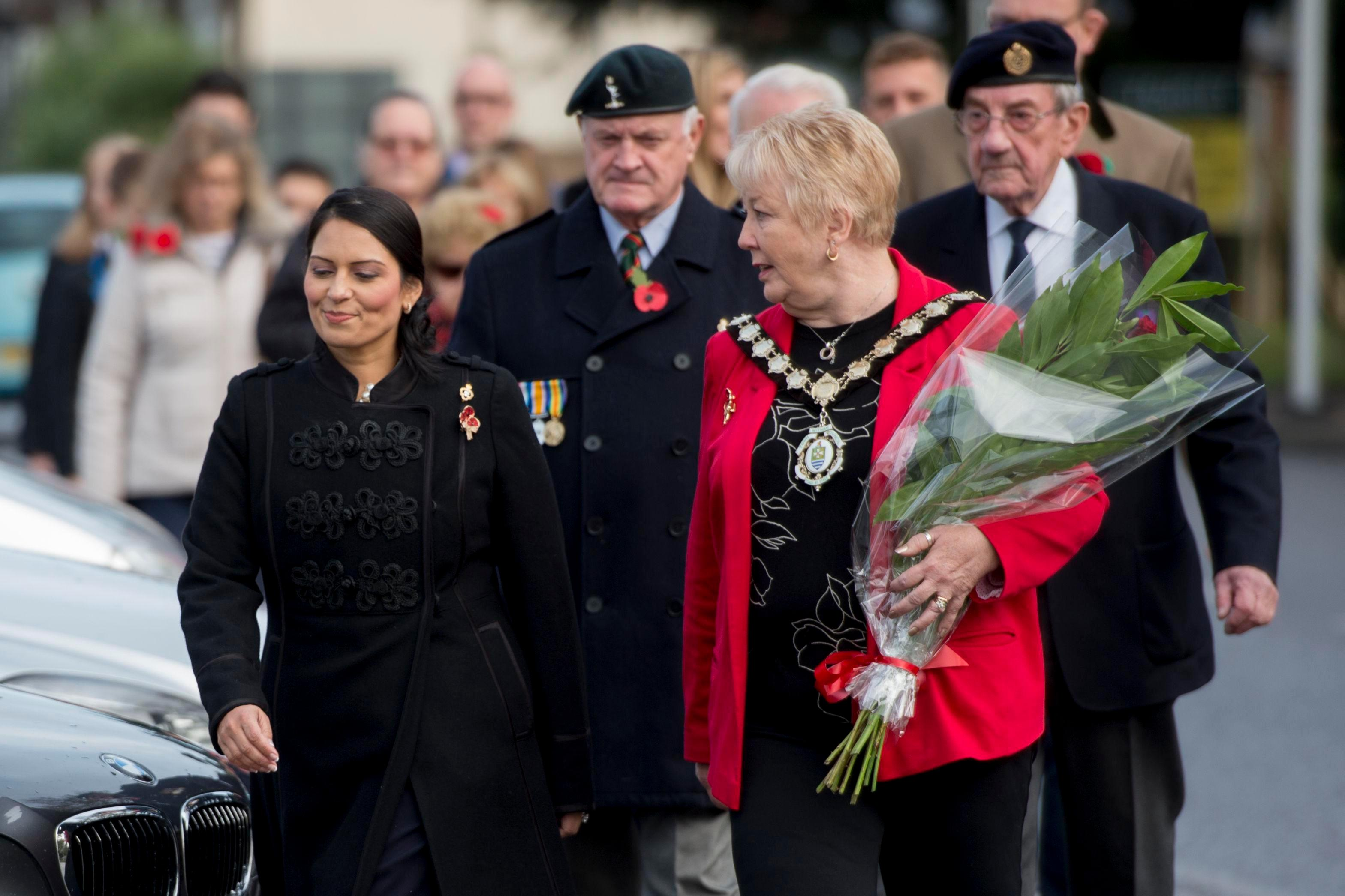 ac280164e161d7580e9b8cabb92d6d3a Priti Patel makes first public appearance since resigning from government over unauthorised Israel meetings