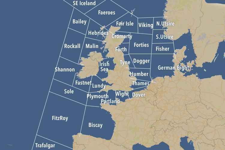 c1784f55d7fe54c2c002f297b6acedb6 What are the Shipping Forecast areas, when is it broadcast and what music is used on BBC Radio 4?