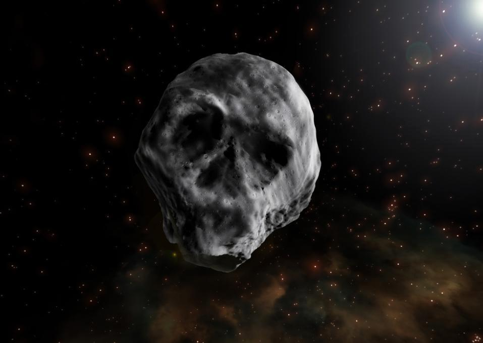 045a74a619e121ebfaf07643b1352f1c Creepy skull-like rock dubbed 'the Halloween asteroid' set to haunt Earth again next year