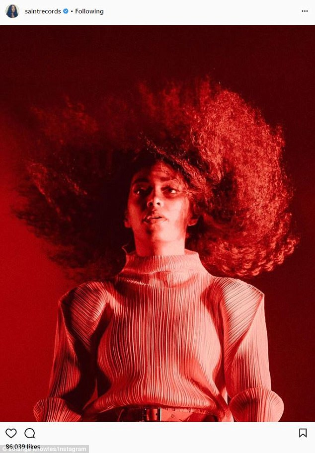 6ce5d4a0d42b064357966f041fdc8045 'Sometimes I feel cool, and other times not so cool': Why Solange's Instagram post could hint at a symptom of her newly-revealed nervous system disorder that can disrupt the brain's control over the body