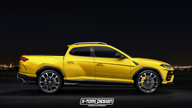 8c2f27b403d6f0f8000d13d30e4bc0b4 Lamborghini Urus Pick Up truck, anyone? - ForceGT.com