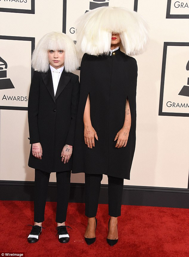 fbdb0326d5fc0b777fa9c7e8d72d9741 'I feel very protective of her': Sia responds to criticism of her role in catapulting Maddie Ziegler, 15, to fame while hiding from spotlight herself