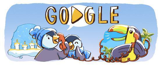 fc709fd0e6d1df841ccf8861a31bee08 Google Doodle marks December global festivities – how is the search engine celebrating Christmas 2017?