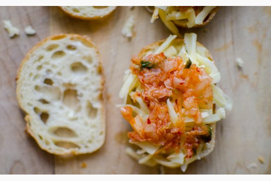 5a014c3de339a87c490ec64c9822cfda Kimchi brings delightful flair to a staple comfort food — grilled cheese