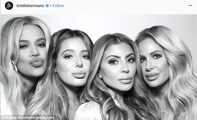 6139c7a48c78d8303c9fee0d6882c7ff 'Going to get my duck lips plumped up some more!': Brielle Biermann, 21, fires back at haters who criticized her trout pout