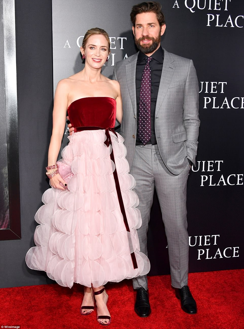 6e84af7f8b3402ba061f9bc7de047899 Emily Blunt and John Krasinski lead star-studded NYC premiere of A Quiet Place